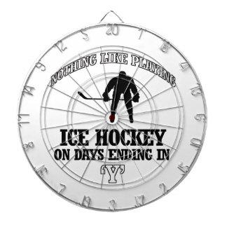 ice hockey designs dart boards