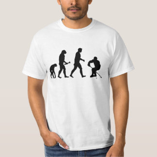 ICE HOCKEY EVOLUTION FUNNY SKATER SPORTS T-Shirt
