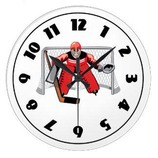 Ice Hockey Goalie Clock