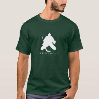 Ice Hockey Goalie Silhouette T-Shirt