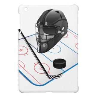 Ice Hockey Hard shell iPad Mini Case
