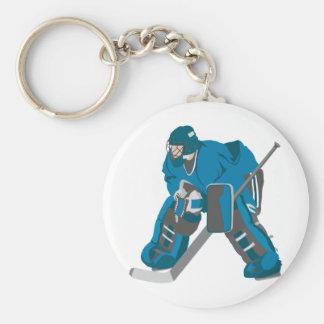 Ice Hockey Key Chain