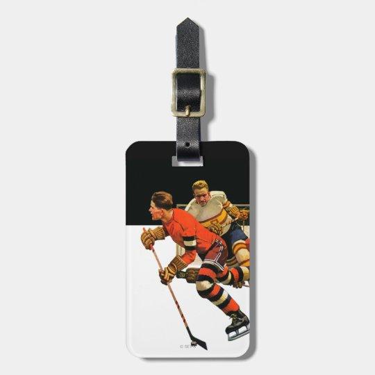 Ice Hockey Match Bag Tag