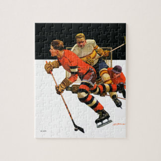 Ice Hockey Match Jigsaw Puzzle