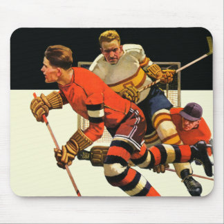 Ice Hockey Match Mouse Mat