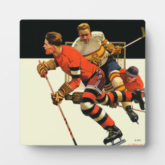 Ice Hockey Match Plaque