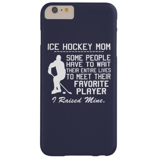 ICE HOCKEY MOM BARELY THERE iPhone 6 PLUS