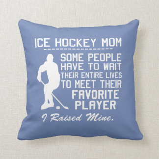 ICE HOCKEY MOM CUSHION