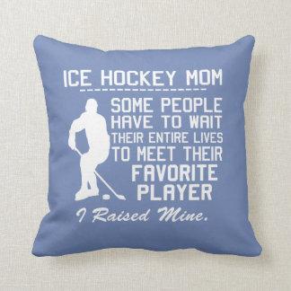 ICE HOCKEY MOM CUSHION