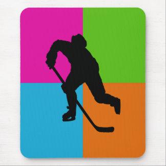 ice hockey mouse pad