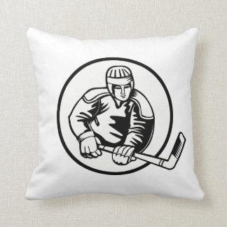 Ice Hockey Pictogram Cushion