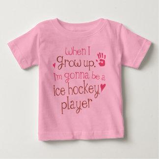 Ice Hockey Player (Future) Infant Baby T-Shirt
