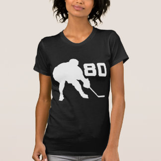 Ice Hockey Player Jersey Number 80 Shirts