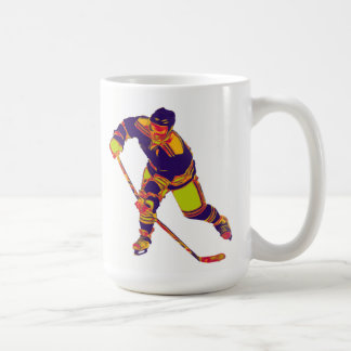 Ice Hockey Player(Multi-Colour), Personalised Mug