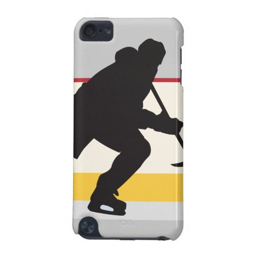 ice hockey player on the move iPod touch (5th generation) cases