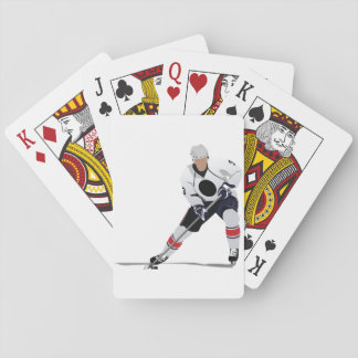 Ice Hockey Player Playing Cards