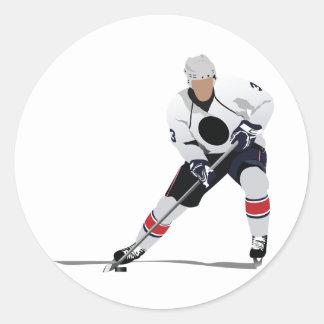 Ice Hockey Player Stickers
