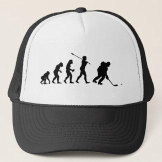 Ice Hockey Player Trucker Hat
