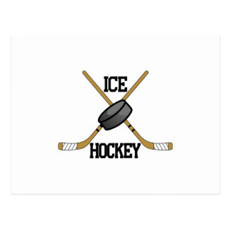 Ice Hockey Postcard