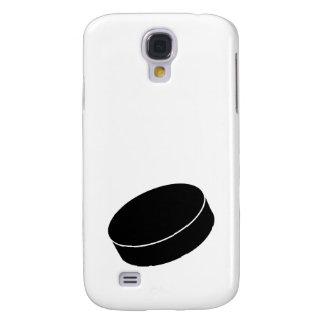 Ice Hockey puck Galaxy S4 Case