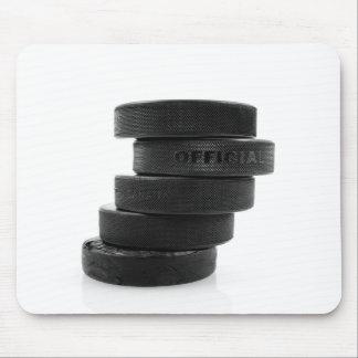 Ice hockey pucks... mouse mat