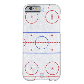 Ice Hockey Rink Barely There iPhone 6 Case