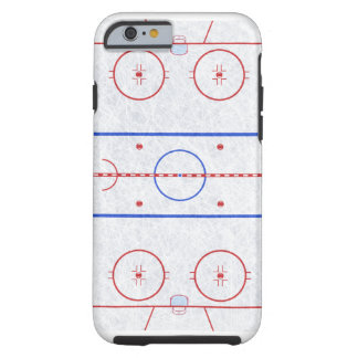Ice Hockey Rink Tough iPhone 6 Case