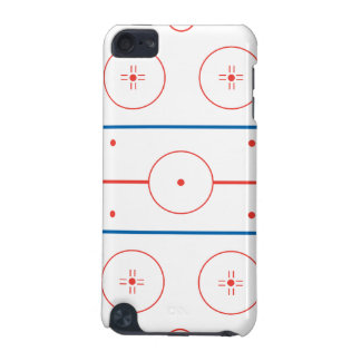ice hockey rink graphic iPod touch 5G cover