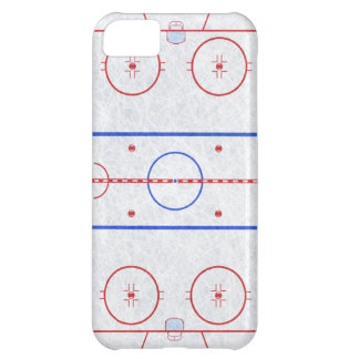 Ice Hockey Rink iPhone 5C Case