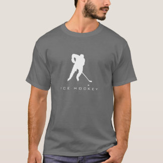 Ice Hockey Silhouette T-Shirt