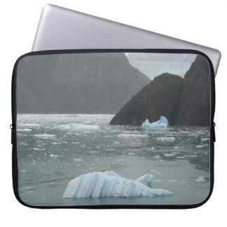 Ice in Tracy Arm Fjord Laptop Sleeve