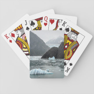Ice in Tracy Arm Fjord Playing Cards