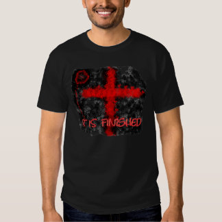 ICE It IS Finished  (All profits to ICE Ministry) Tee Shirts
