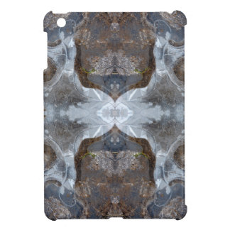 Ice kaleidoscope pattern case for the iPad mini