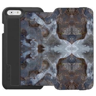 Ice kaleidoscope pattern incipio watson™ iPhone 6 wallet case