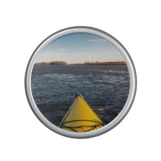 Ice kayaking bluetooth speaker