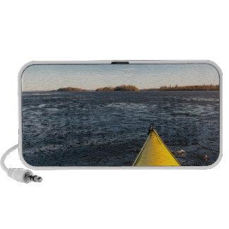 Ice kayaking mini speakers