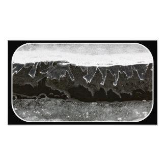 Ice layers photo art