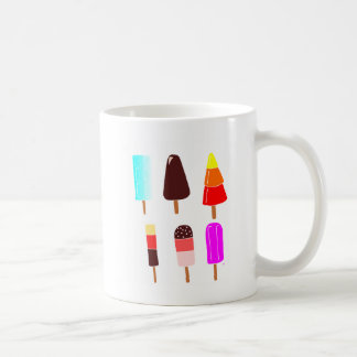 Ice lollies basic white mug
