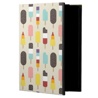 Ice Lollies & Frozen Treats Popsicle Pattern iPad Air Cover