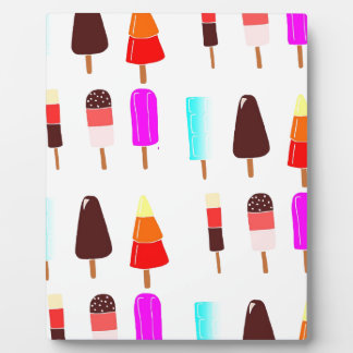 Ice lollies plaque