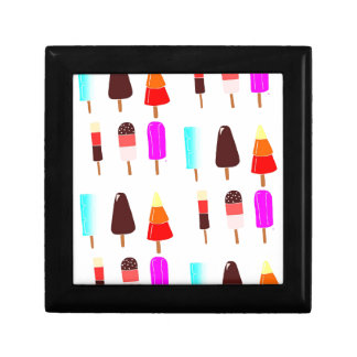 Ice lollies small square gift box