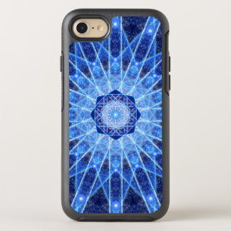 Ice Lotus Mandala OtterBox Symmetry iPhone 7 Case