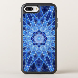 Ice Lotus Mandala OtterBox Symmetry iPhone 7 Plus Case