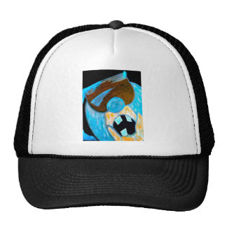 Ice man character hat