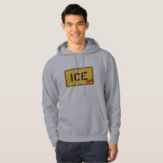 ICE Man Novelty Sweatshirt Hoody