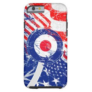 Ice Mod Roundel Grunge Patriot Tough iPhone 6 Case