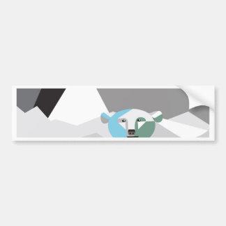 Ice-Mountains.jpg Bumper Sticker