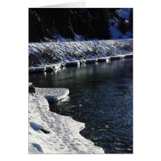 Ice on the Blackfoot Card