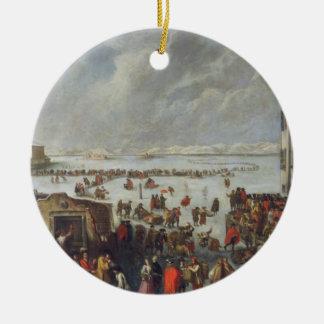 Ice on the Lagoon Christmas Ornament